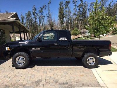 Dodge : Ram 2500 Extended Cab Sport 1999 dodge ram 2500 4 x 4 cummins diesel sport extended cab 48 k original miles
