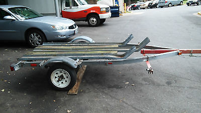 3 rail motorcycle and atv trailer