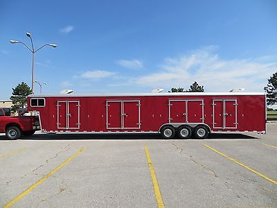 2006 WELLS CARGO 2-CAR ENCLOSED CUSTOM TRAILER - NICE!!!