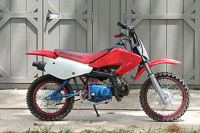 Honda : XR 02 honda xr 70 r clean title in hand fully customized powdercoated everything