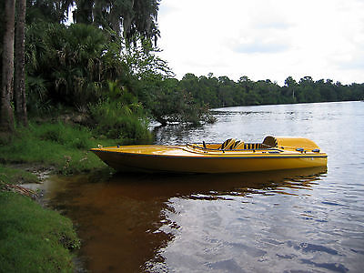 1968 Champ speed/ski boat