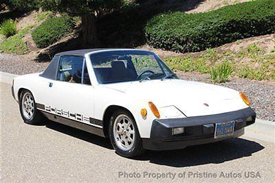 Porsche : 914 914 2.0 Litre Original Paint- 1 owner since 1978 1976 porsche 914 2.0 litre 58 k original miles original paint no rust