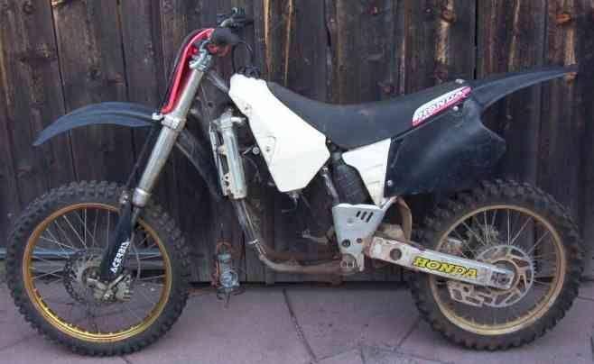 1995 Honda cr250r Motocross Motorcycle 95 cr 250 R + Parts