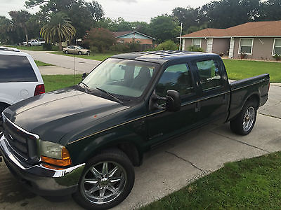 Ford : F-350 XLT FOUR DOOR KING CAB 2001 ford f 350 super duty king cab 7.3 diesel southern truck