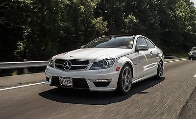 Mercedes-Benz : C-Class C63 AMG 2012 mercedes benz c 63 amg 1 owner low miles clean carfax warranty 70 k msrp
