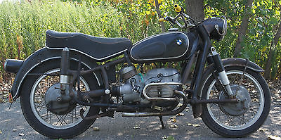 BMW : R-Series Original Numbers Matching 1957 BMW R60 Running With 25k miles Airhead