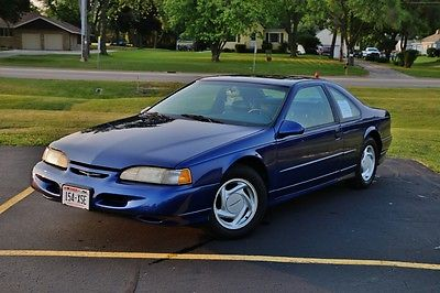 Ford : Thunderbird Super Coupe 1994 ford thunderbird supercoupe