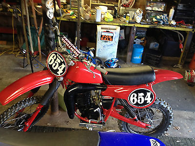 Honda : Other 1980 honda cr 250 elsinore ahrma post vintage racer cr 250