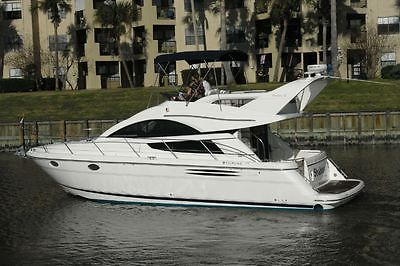 41' Fairline. Located in Clear Lake, Texas. Owner was commodore of Houston YC