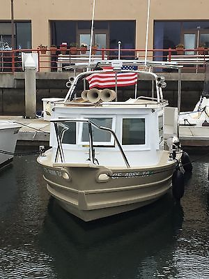 Rare Classic Tugboat Fully Custom Electric Solar Power Boat Yacht Cruiser