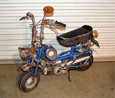Benelli : Buzzer 1960 s 1970 s era benelli buzzer folding mini bike barn find project barnfind