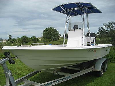 2002 Proline Bay boat fishing Salt water series Merc 150 off shore center consol