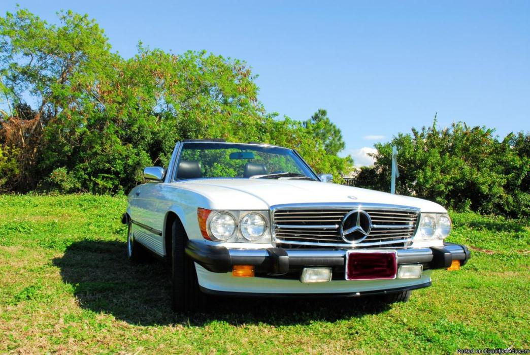 1986 Mercedes Benz 560sl Cars For Sale