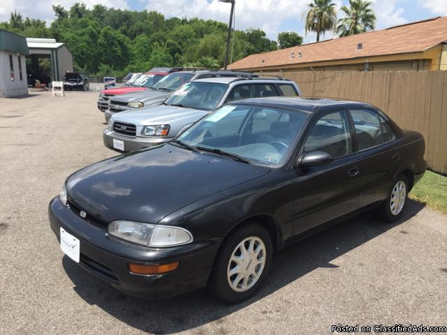 1993 GEO PRIZM! 110K! AUTO! CLEAN! CASH! 281-448-1711