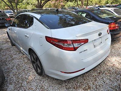 Kia : Optima 4dr Sedan 2.4L Automatic EX 4 dr sedan 2.4 l automatic ex kia optima hybrid sedan low miles automatic 2.4 l 4 c