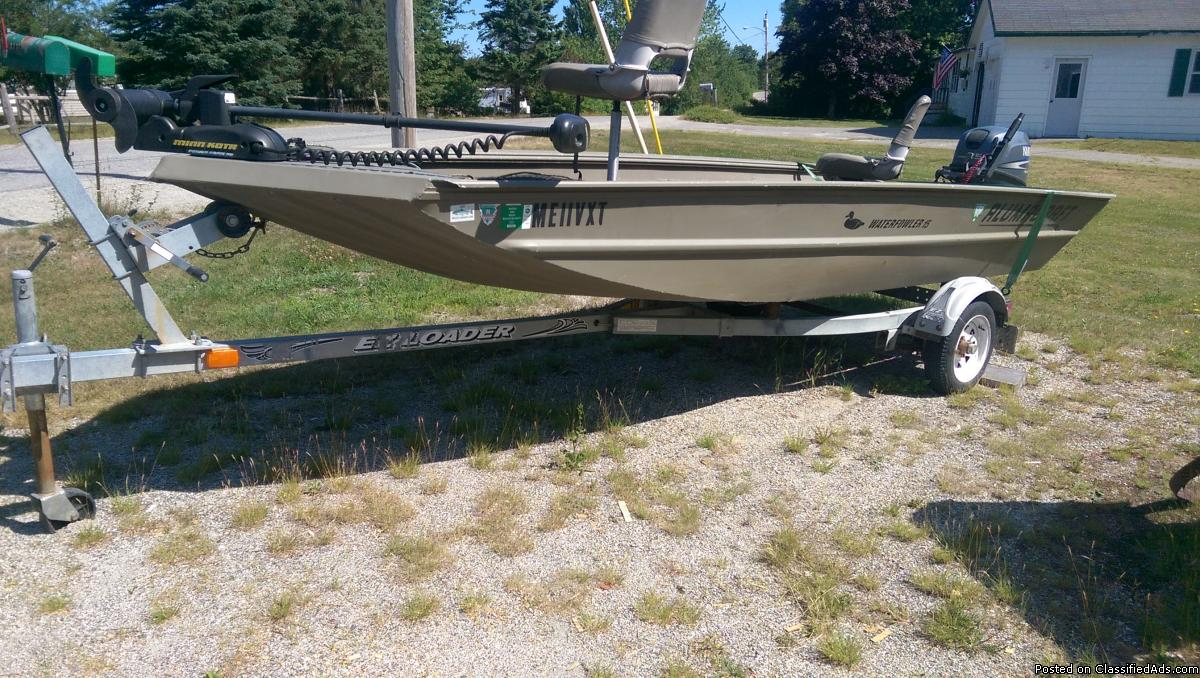 15 ft. Alumacraft Package