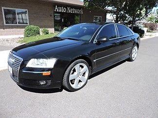 Audi : A8 4.2L 2006 audi a 8 low miles black black excellent