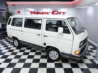 Volkswagen : Bus/Vanagon 7 Seater Carat 4-Speed Volkswagen Vanagon Carat 7 Passenger Mini Van 1 Owner 4-Spd Full Service History