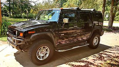 Hummer : H2 LUXURY 2005 hummer h 2 black on black