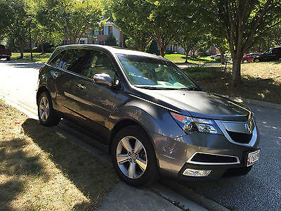Acura : MDX Tech Package & Entertainment Package 2012 acura mdx 3.7 technology w entertainment package excellent condition