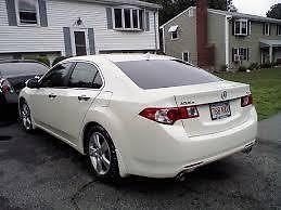 Acura : TSX Base Sedan 4-Door Acura TSX White