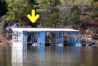 Boat Slip for Sale on Bull Shoals Lake, Arkansas