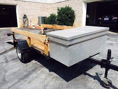 Versatile Utility Trailer, Golf Cart , Motorcycle, ATV, Lawn Equipment