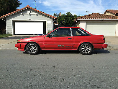 Toyota : Corolla Sport GTS Coupe 2 Door Toyota Corolla AE86 Coupe With  Beams Engine