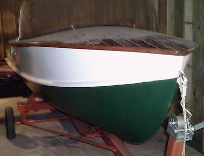1955 wolverine boat by wagmaker 14ft/redone no motor