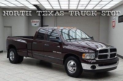 Dodge : Ram 3500 Cummins 5.9L SLT 2WD Quad Cab TEXAS TRUCK 2004 dodge ram 3500 diesel 2 wd dually slt quad cab texas truck