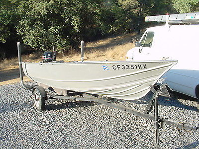 14' Aluminum Fishing Boat with