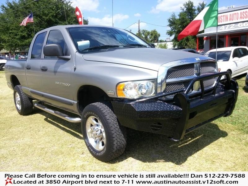 2005 Dodge Ram 2500 Hemi|84k Mi.|2500 Down|4WD|SLT|Grill Guard|Lifted|