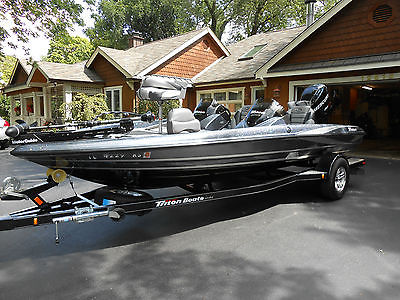 """2012 TRITON Bass Boat 18'8"""" W/Removable Dual Console~Warranty~Excellent~Beauty"""