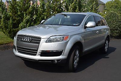 Audi : Q7 3.6 Premium AUDI Q7 3.6 Premium 2007 - Metallic Silver, low mileage, very good condition