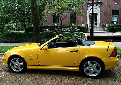 Mercedes-Benz : SLK-Class Sport 1999 mercedes benz slk 230 convertible sport rare 5 speed supercharged only 87 k
