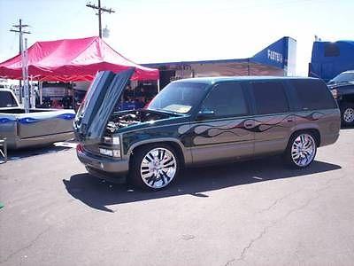 Chevrolet : Tahoe LT 1996 custom chevy tahoe 4 door lt model