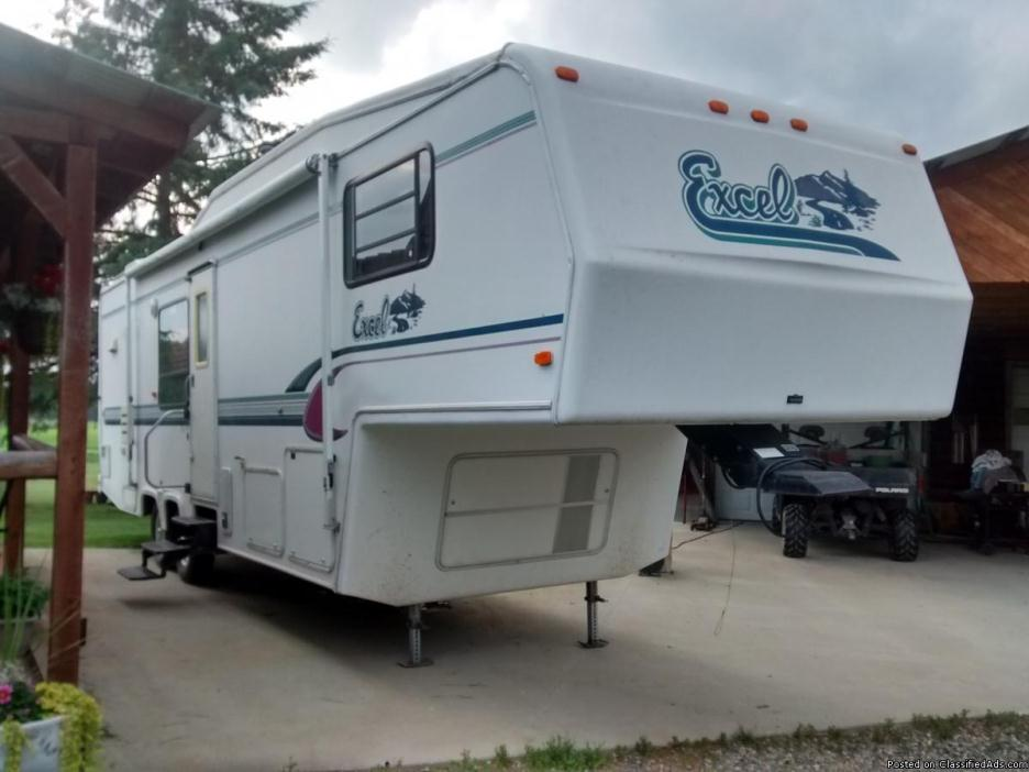Excel 5th Wheel Rvs For Sale
