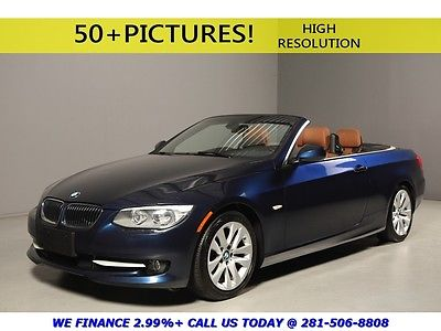 BMW : 3-Series 2012 328i NAV CONVERTIBLE HEATSEATS LEATHER XENONS 2012 bmw 328 i prem pkg cold weather prem pkg nav leather wood xenons lemans blue