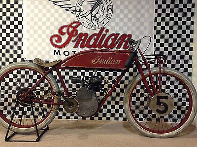 Indian 1920 indian daytona board track racer replica by scott weiss