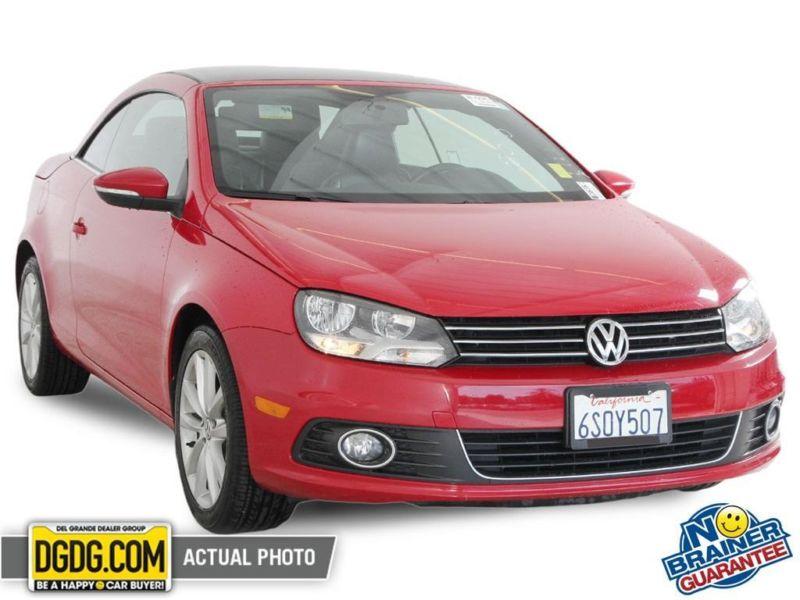 2012 Volkswagen Eos 2d Convertible Komfort Cars For Sale