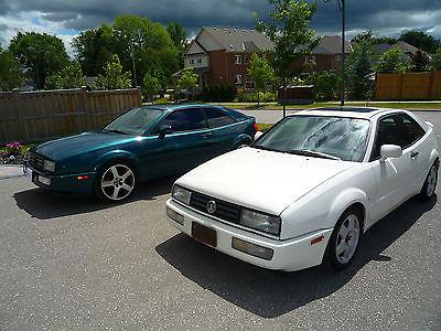 Volkswagen : Corrado A pair of 1993 Corrado VR6's