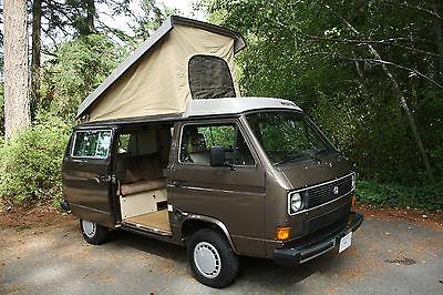 Volkswagen : Bus/Vanagon Westfalia 1985 volkswagen vw vanagon campmobile van camper westfalia