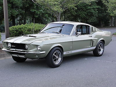 Shelby GT-500 1967 shelby gt 500 fastback body off frame off professionanly restored
