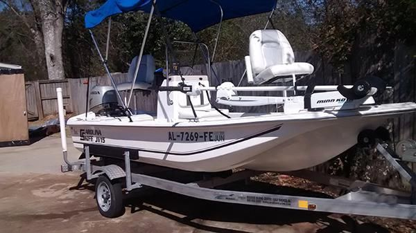 carolina skiff jv  center console boats  sale