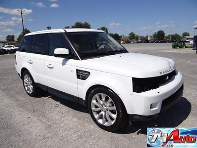 Land Rover : Range Rover Sport HSE 74 auto salvage repairable 5.0 sport 31 k miles wholesale rebuildable rover