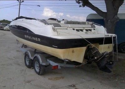 2013 Baylinder 215 Deck Boat For Sale Clean Title Lowest Price Nationwide