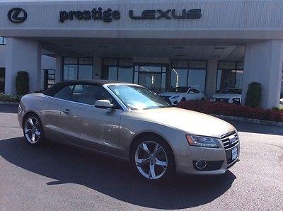 Audi : Cabriolet 2.0T Premium Plus 2011 audi 2.0 t premium plus