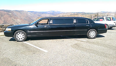 Lincoln : Town Car 6 pass limo 2005 lincoln town car 6 passinger limo