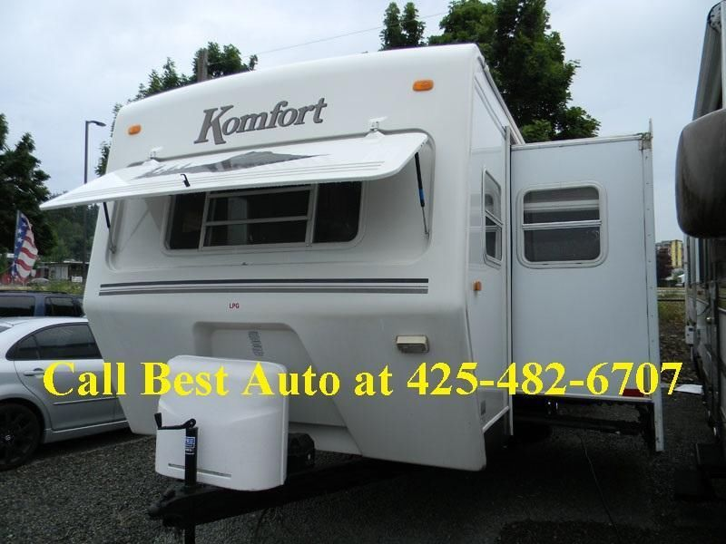 2007 Komfort Travel Trailer