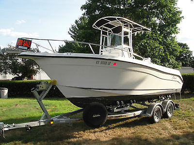 2003 Seaswirl 2101 Center Console Fishing Boat